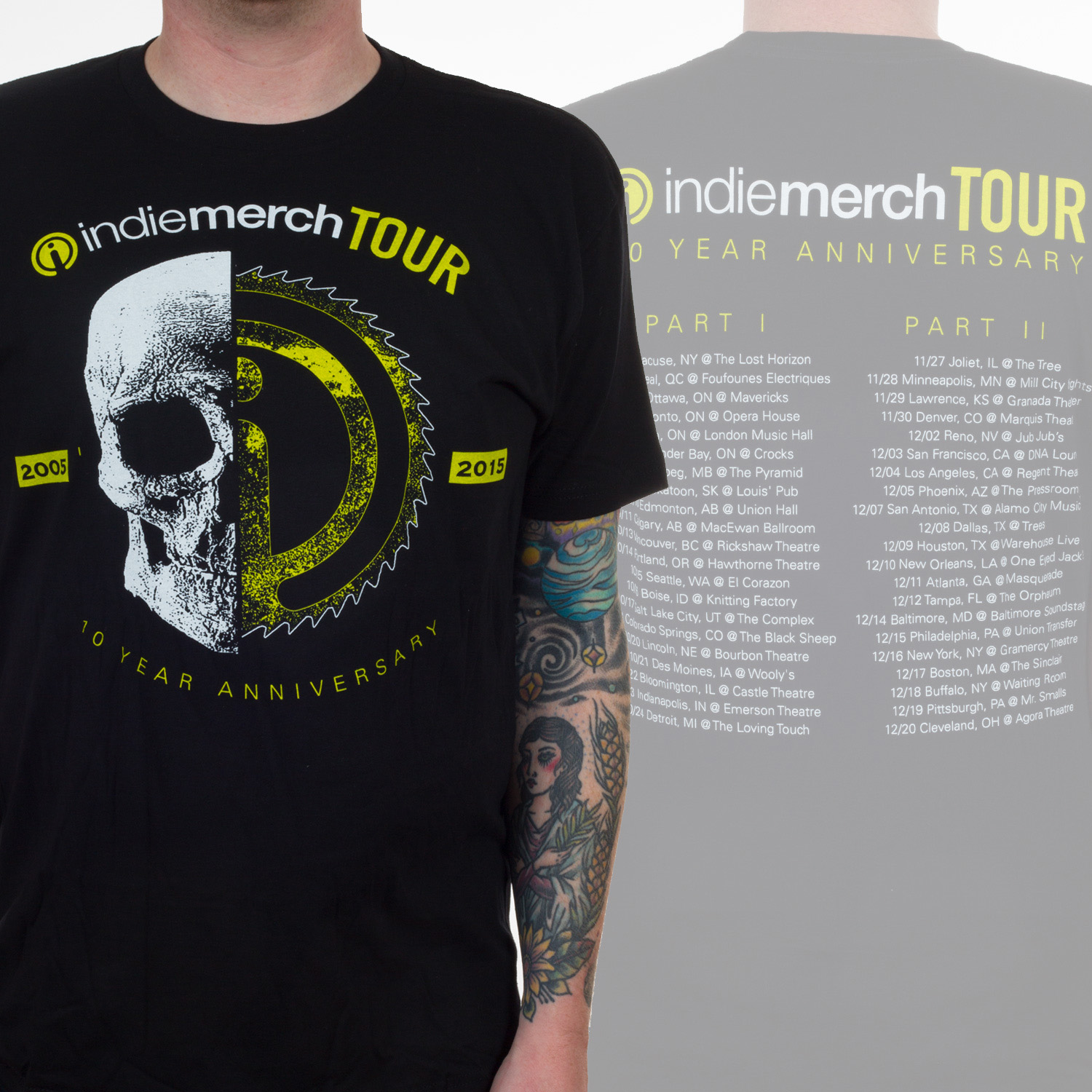 IndieMerch Tour 2015