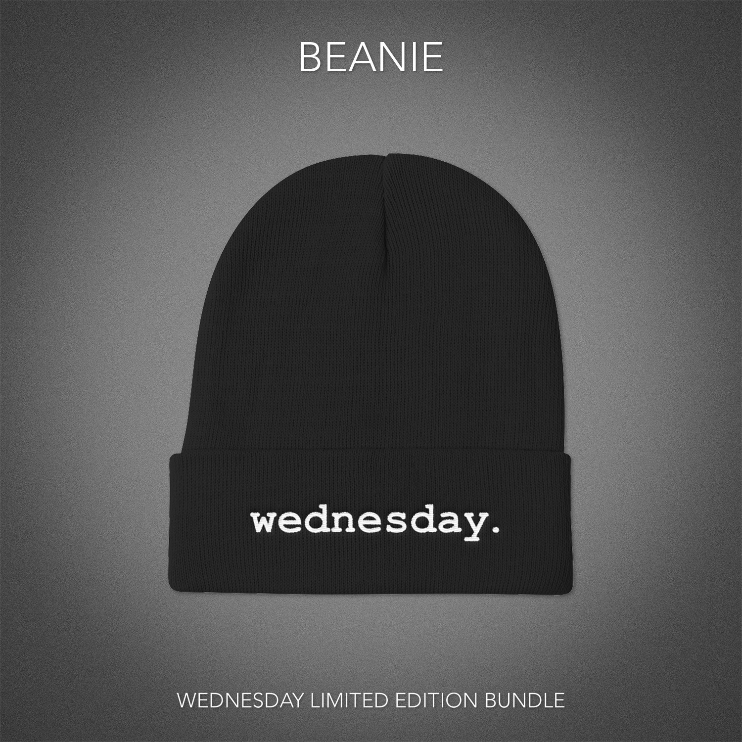 Wednesday Beanie