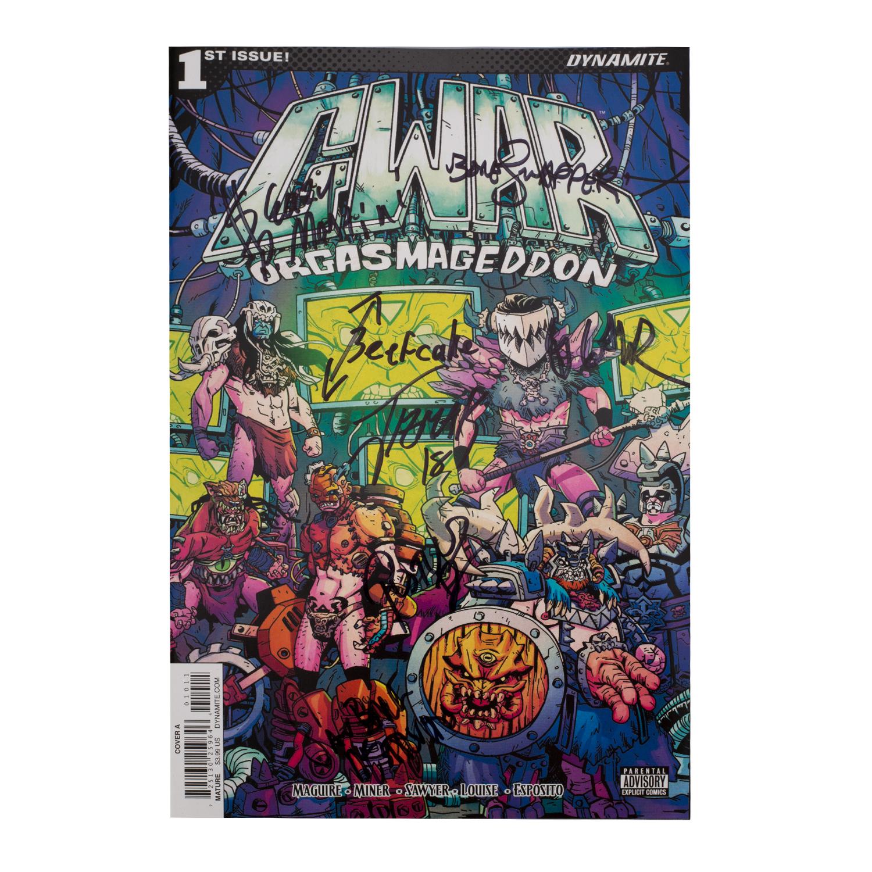 Orgasmageddon Comic Bundle (SIGNED)