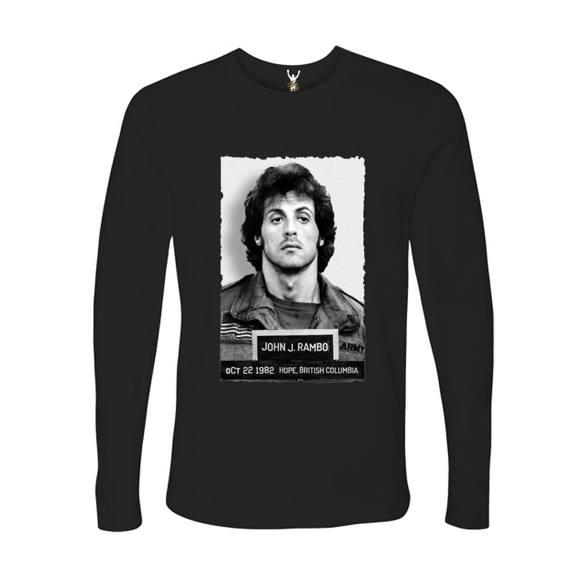 John Rambo Mugshot long sleeves