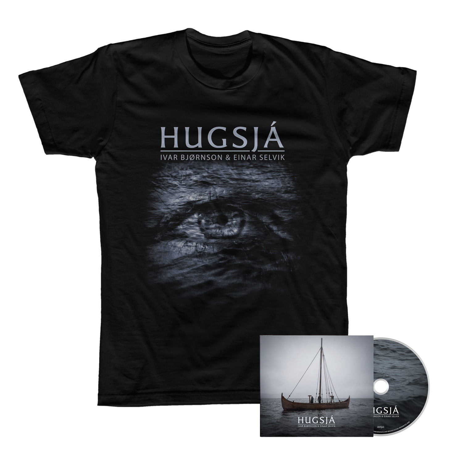 Hugsjá CD + Tee Bundle