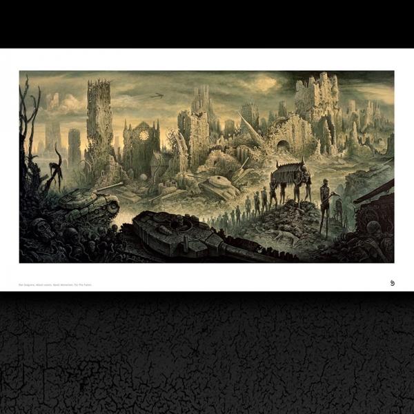 Memoriam 'For The Fallen' Album Cover