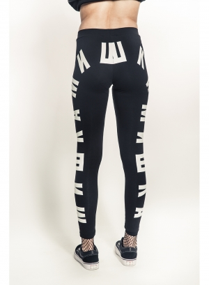 Cyrillic Leggings