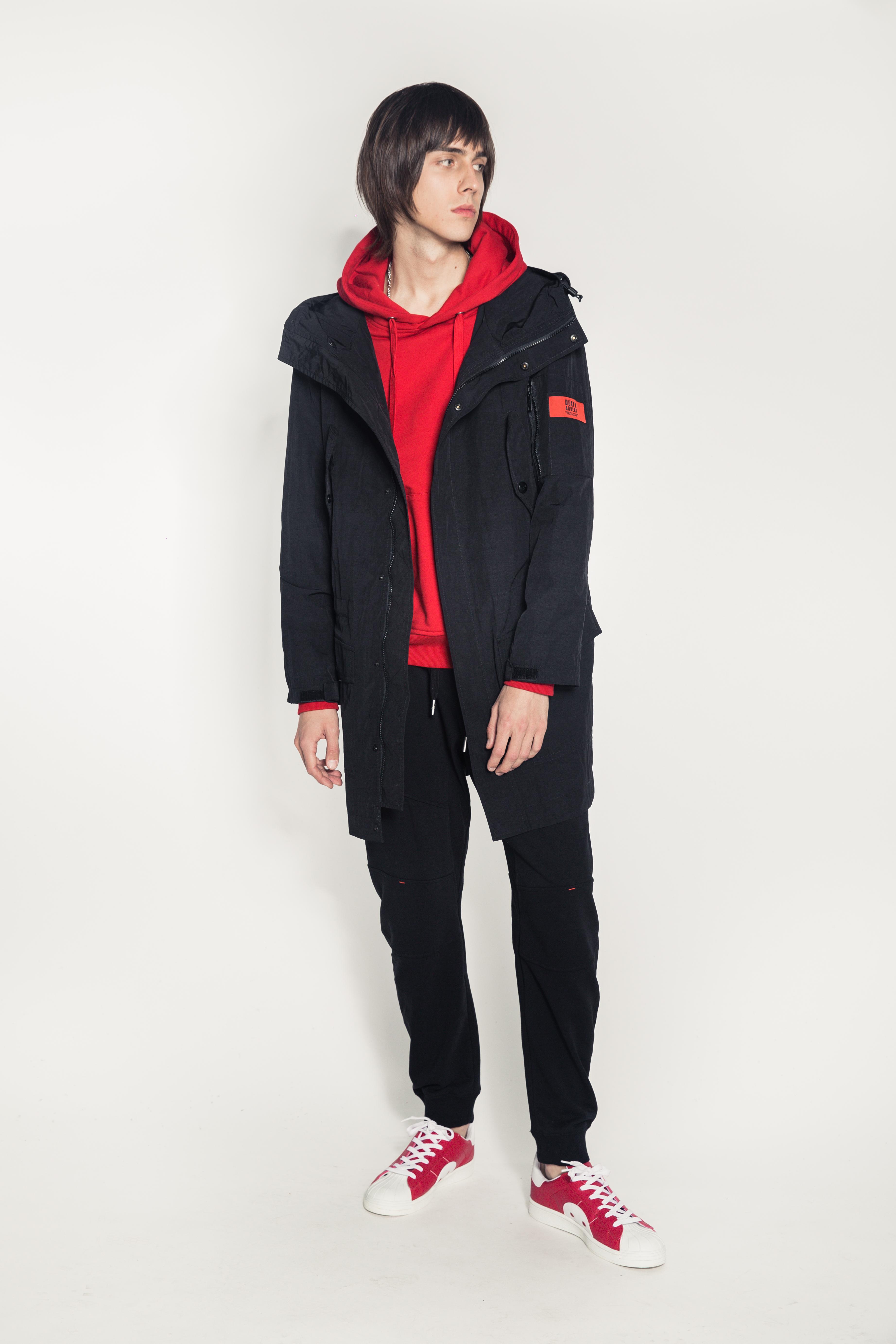 DA Sport Hooded Coat