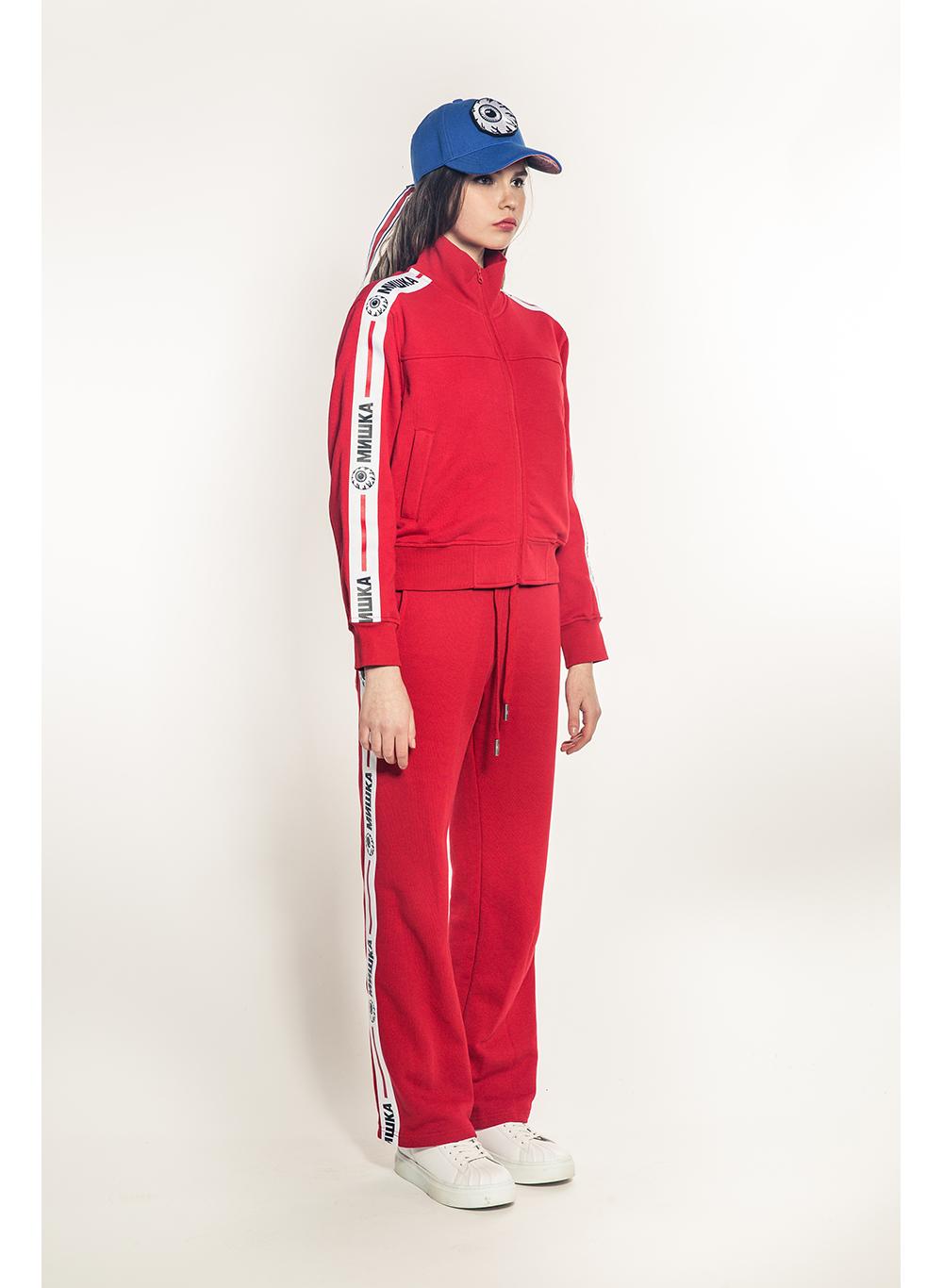 Cyrillic Keep Watch Stripe Women's Jacket