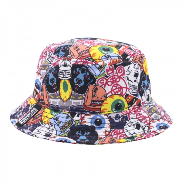 Logo Collage Bucket Hat