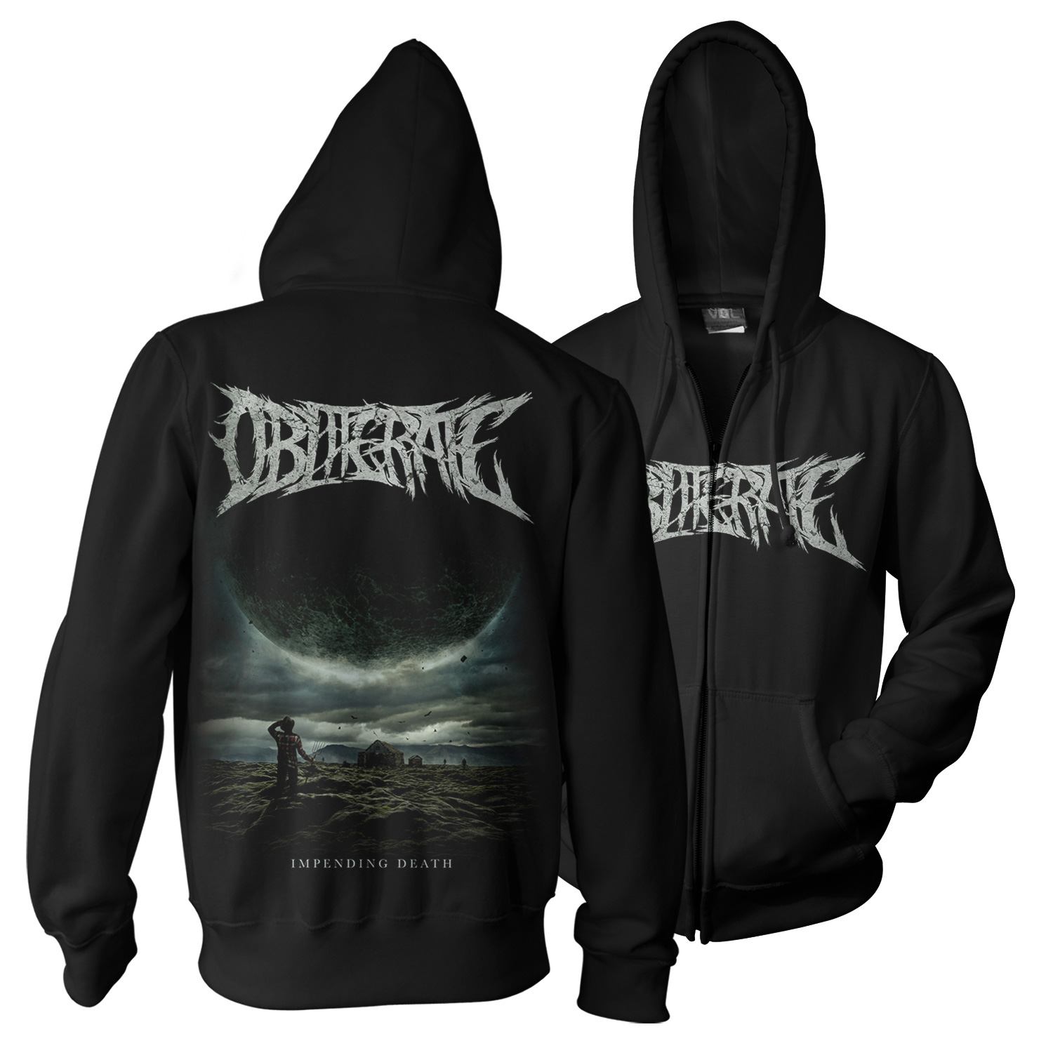 Impending Death Hoody + CD Bundle