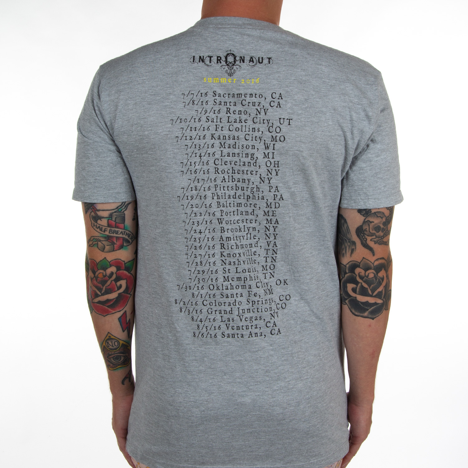 Grey Direction Tour Shirt