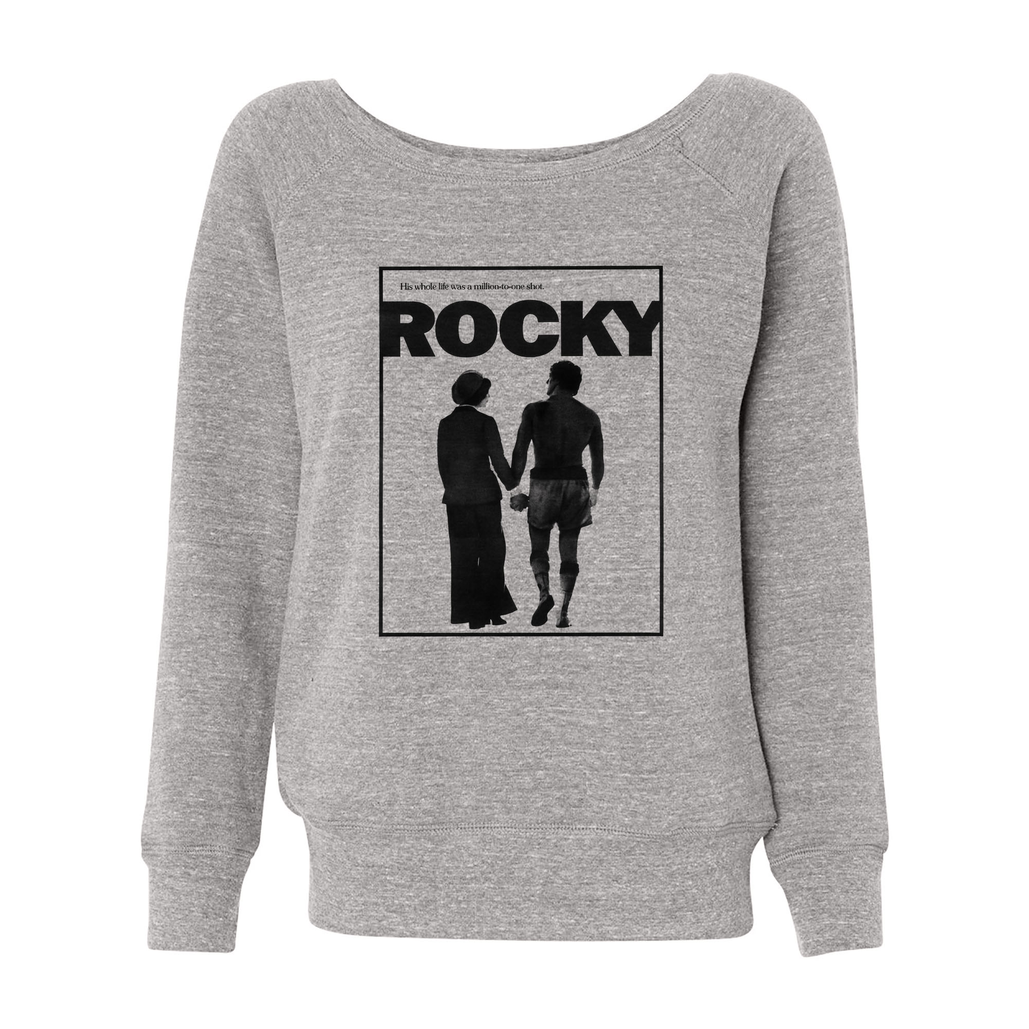 Rocky & Adrian Wide Neck Sweatshirt