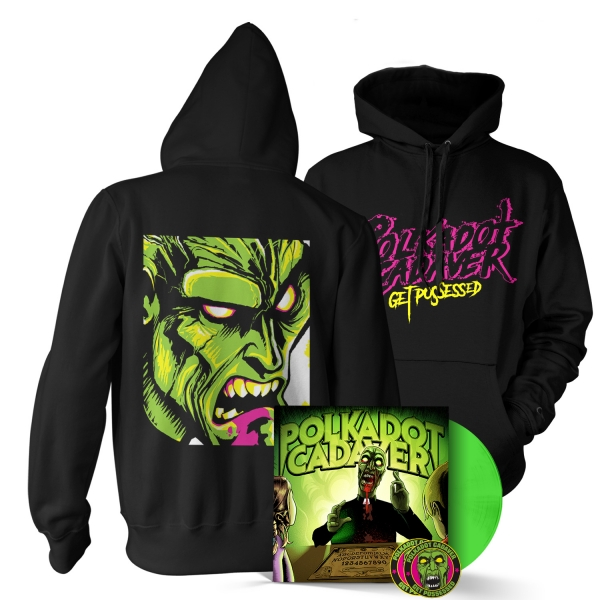 Get Possessed LP/Hoodie Bundle