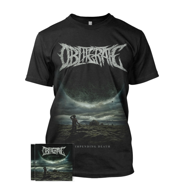 Impending Death Tee + CD Bundle