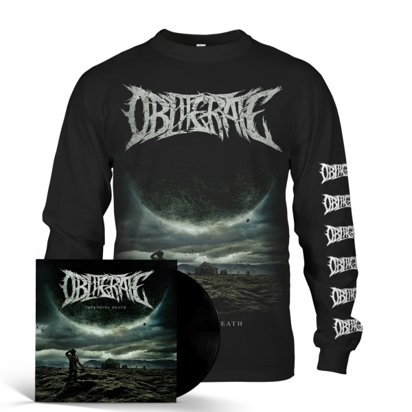 Impending Death Longsleeve + LP Bundle