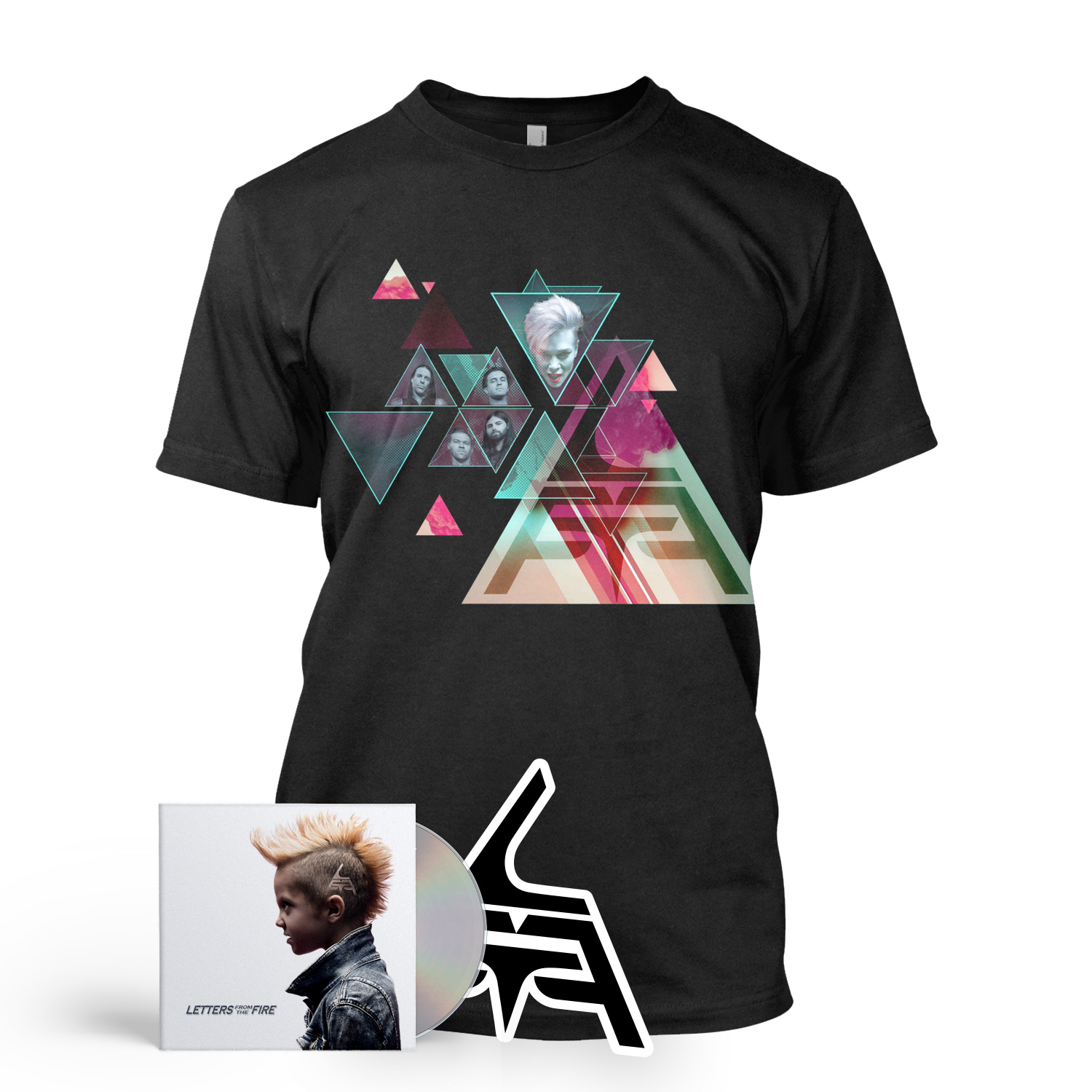 CD/Abstract Tee Bundle