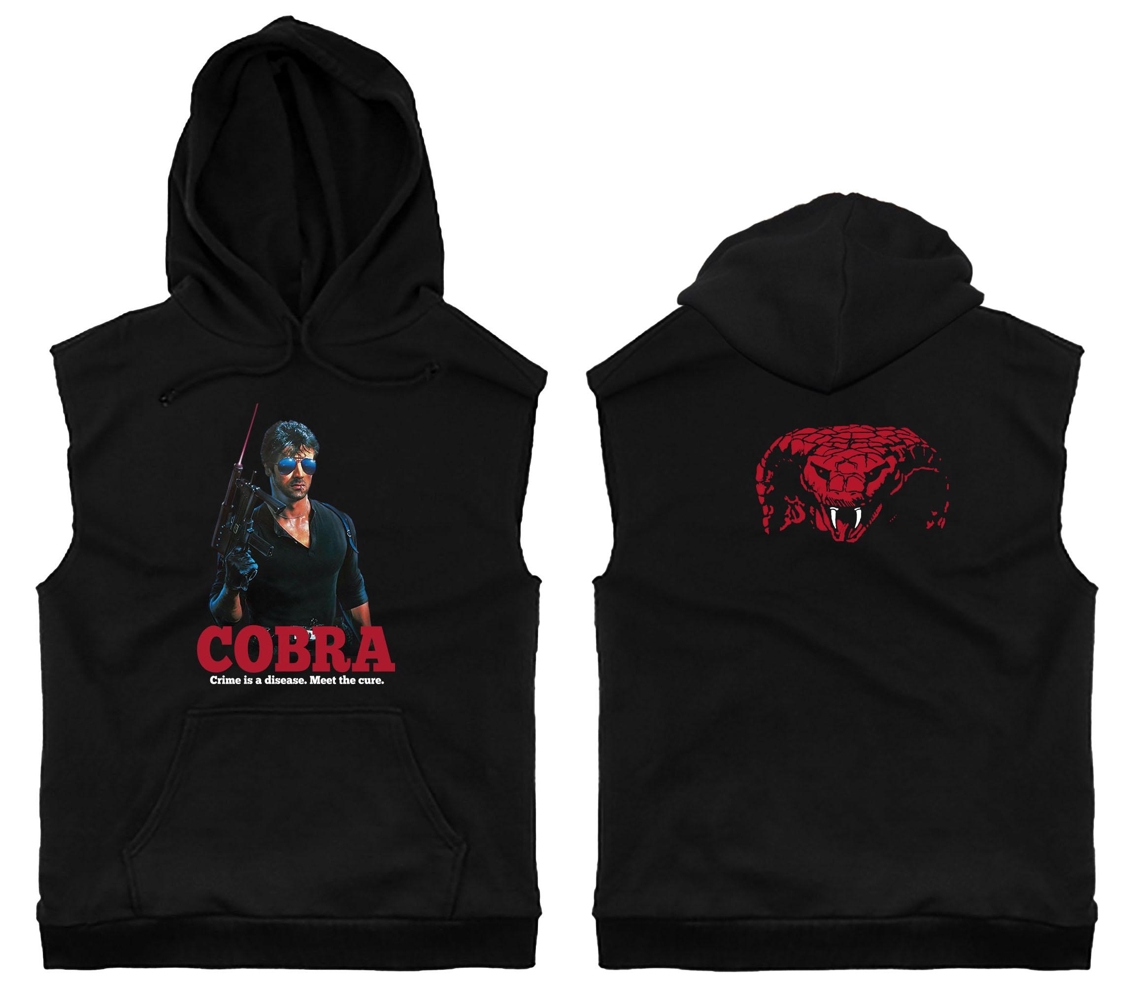 COBRA Sleeveless Hoodie