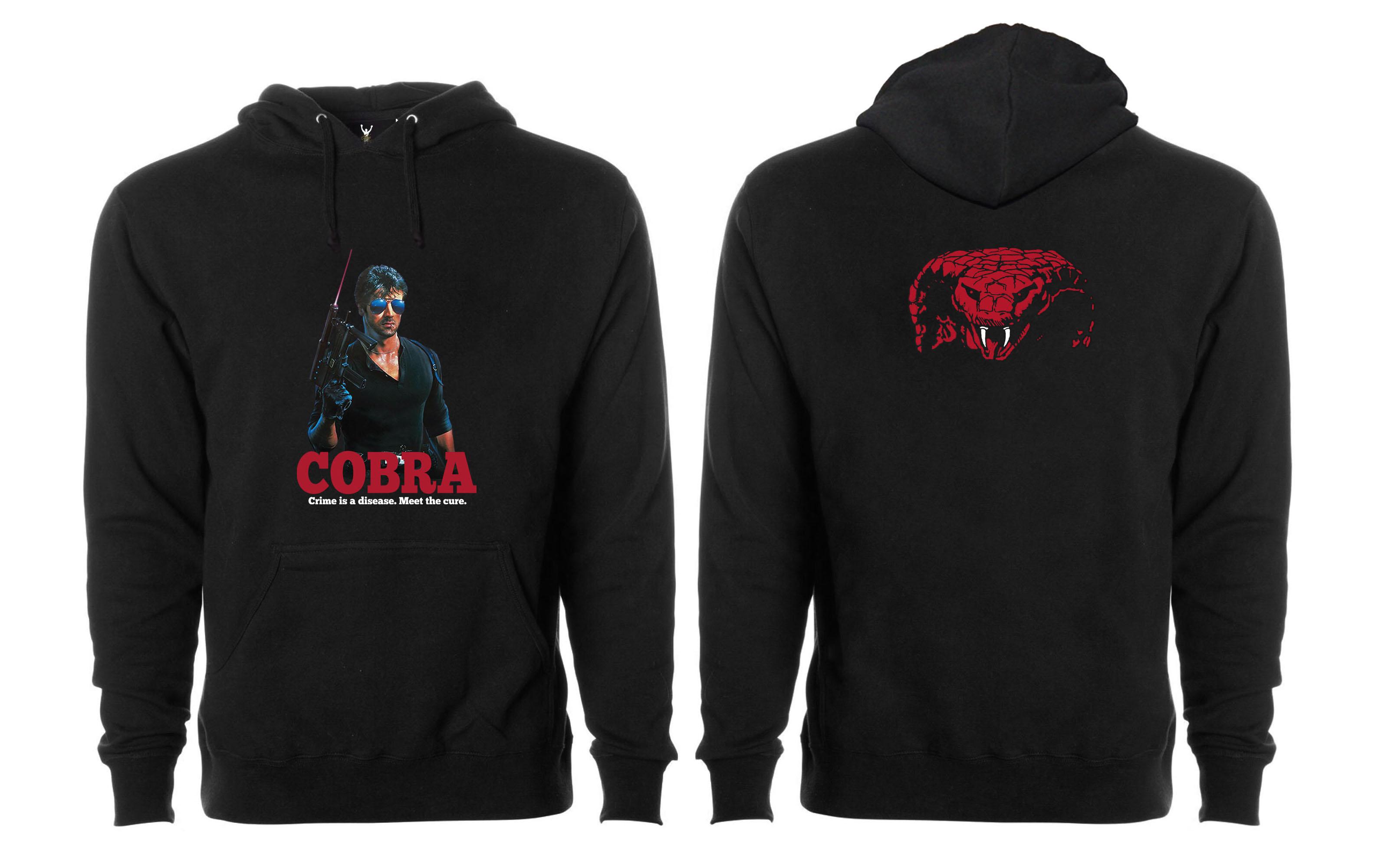 Cobra Pullover Hoodie
