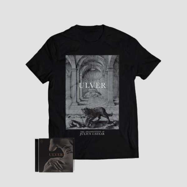 The Assassination Of Julius Caesar CD + Wolf Tee Bundle