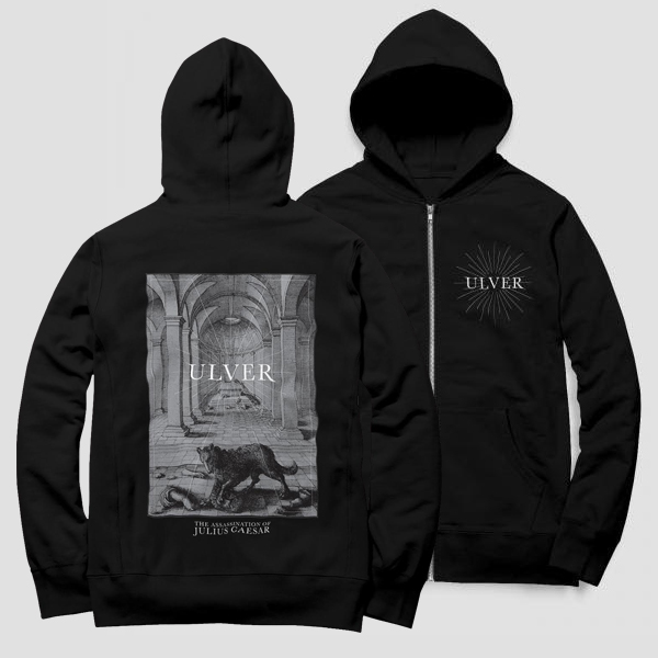 The Assassination Of Julius Caesar CD + Wolf Hoodie Bundle