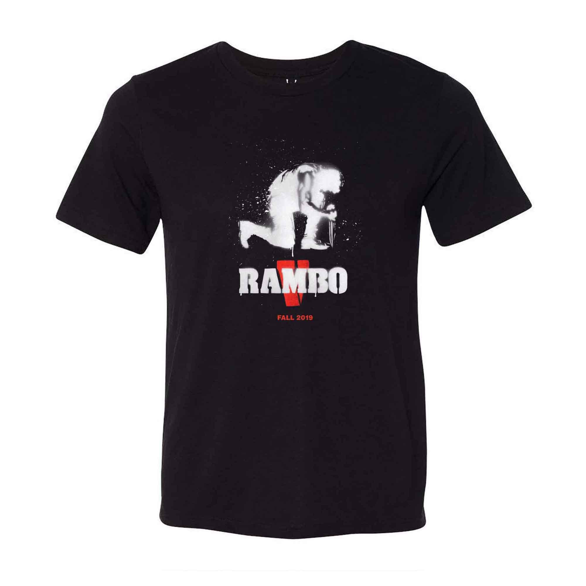 Rambo V Black Tee