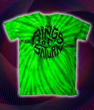 Alien Green Tie Dye Logo