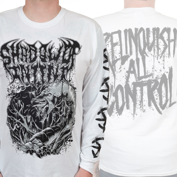 Shadow Of Intent Quot Relinquish White Quot Longsleeve