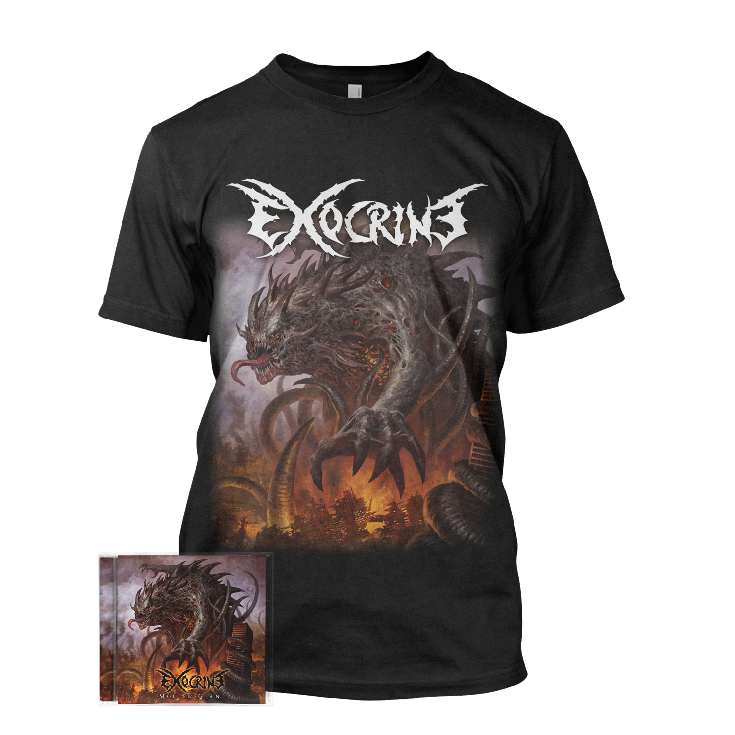 Molten Giant CD + Tee Bundle