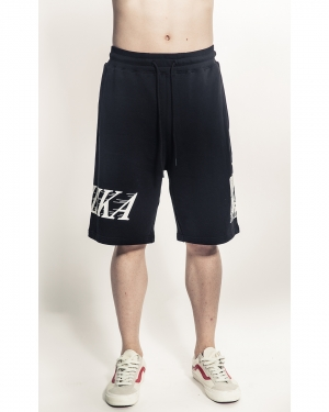 Simon Box Logo Shorts (Black)