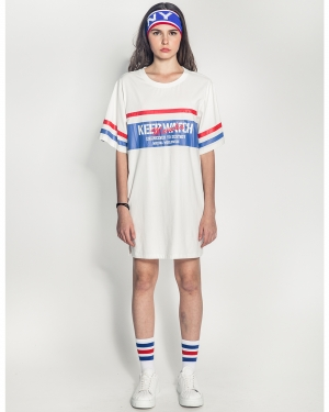 Keep Watch Dress (Off-White)
