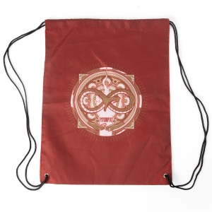 S/T Album Red draw string bag