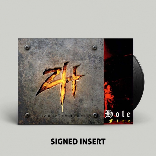 Bound By Fire Black Hole LP + SIGNED Insert
