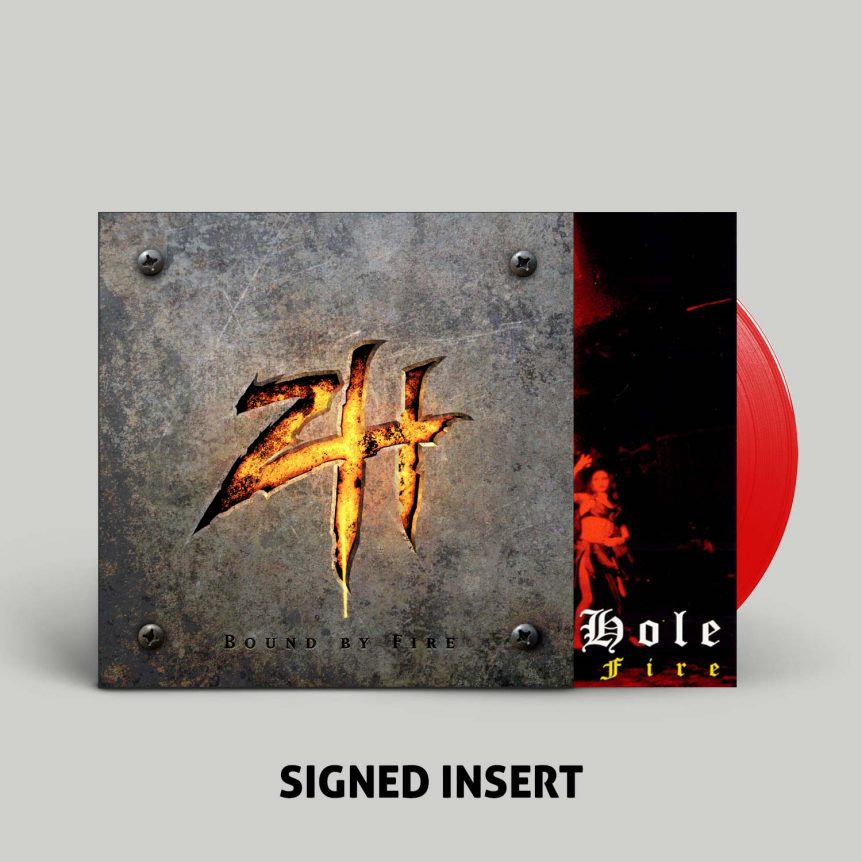 Bound By Fire Bloody Hole LP + SIGNED Insert