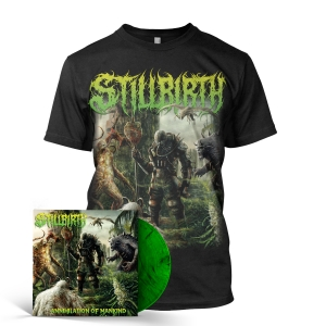 Annihilation of Mankind Tee + LP Bundle