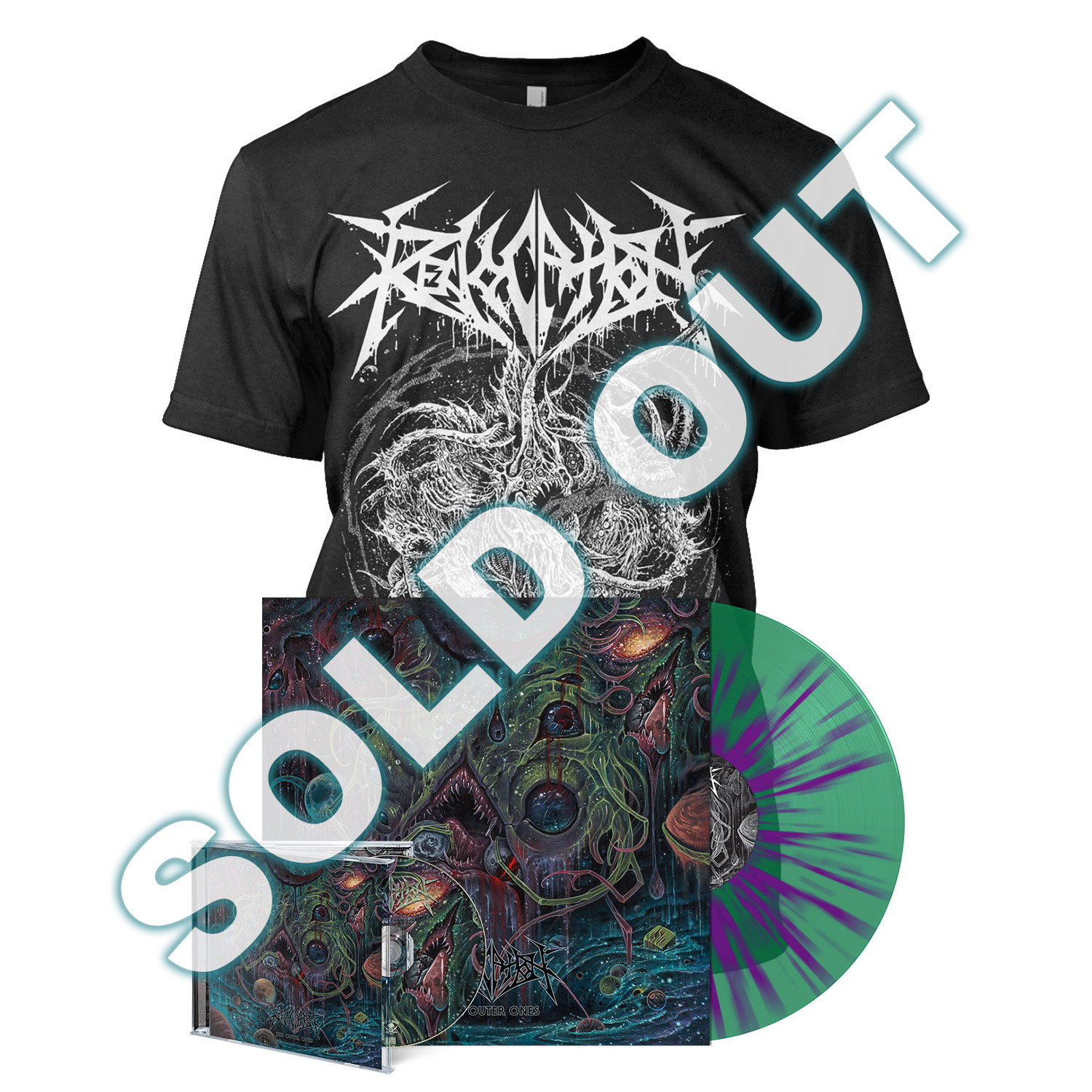 The Outer Ones - Deluxe Outer Bundle - Splatter