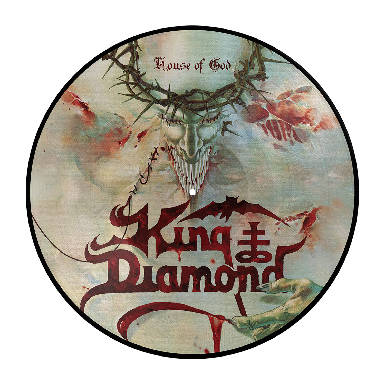King Diamond Quot House Of God Picture Disc Quot 2x12 Quot Metal