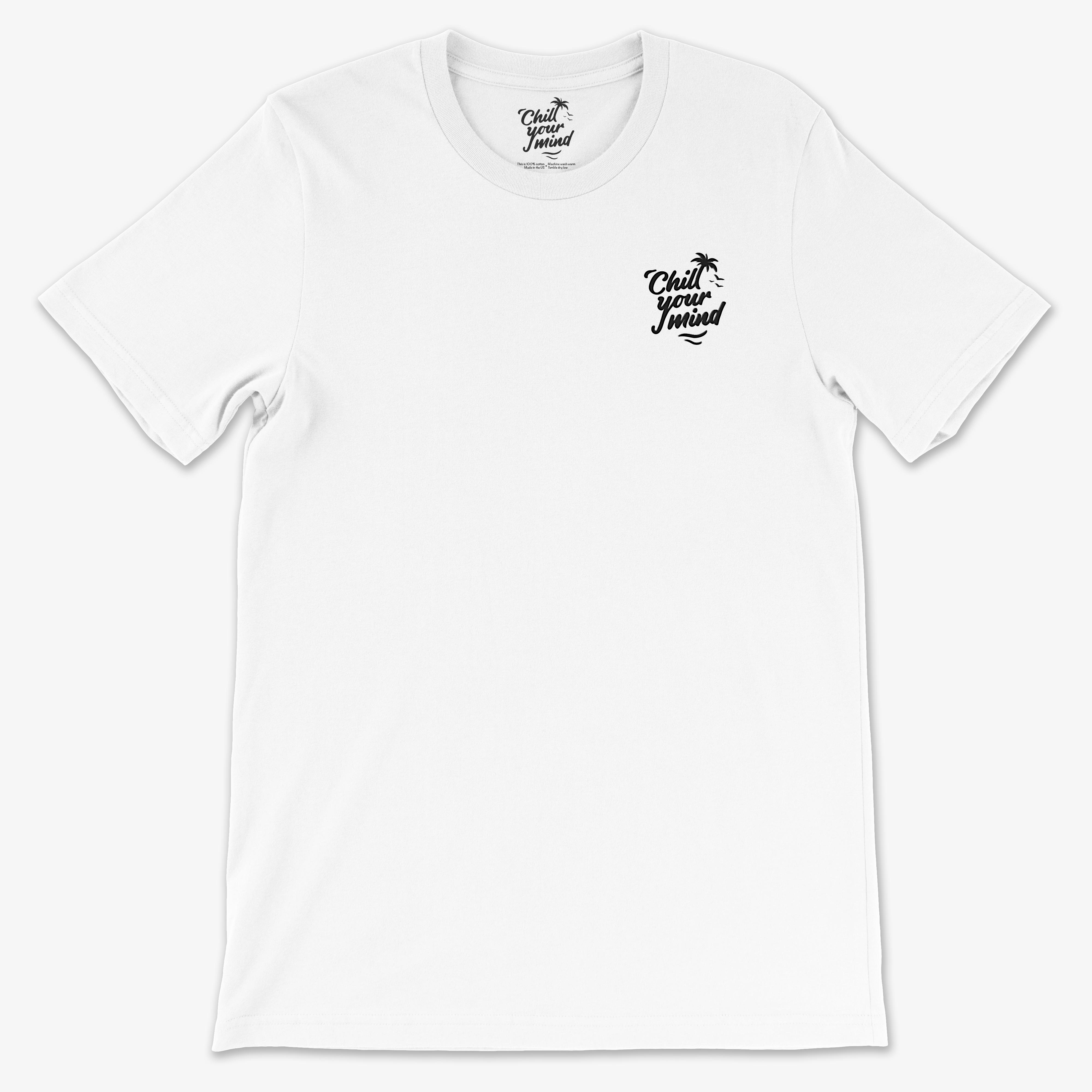 ChillYourMind - Embroidered Logo Shirt