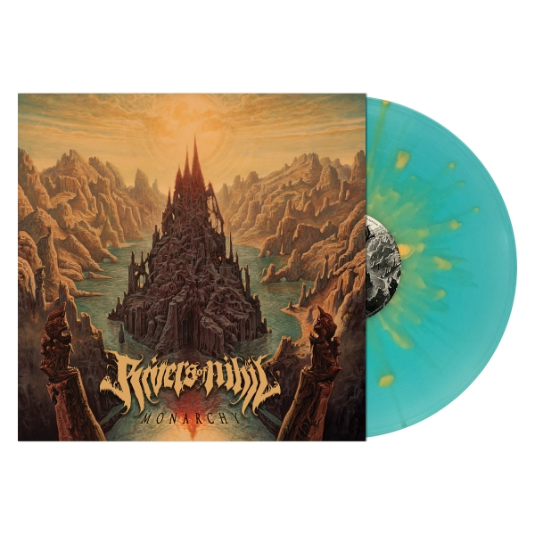 Monarchy (Electric Blue with Mustard Splatter Vinyl)