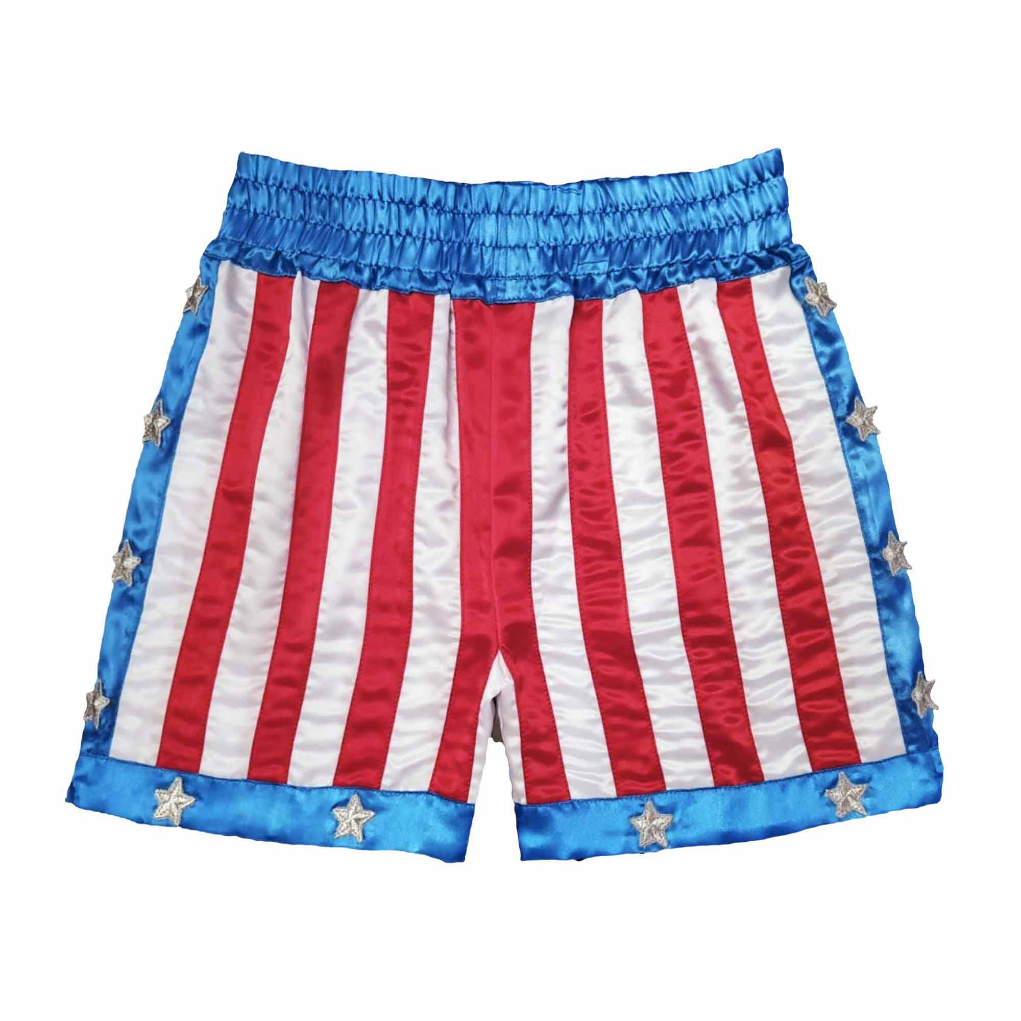 Rocky IV Stars And Stripes Boxing Trunks