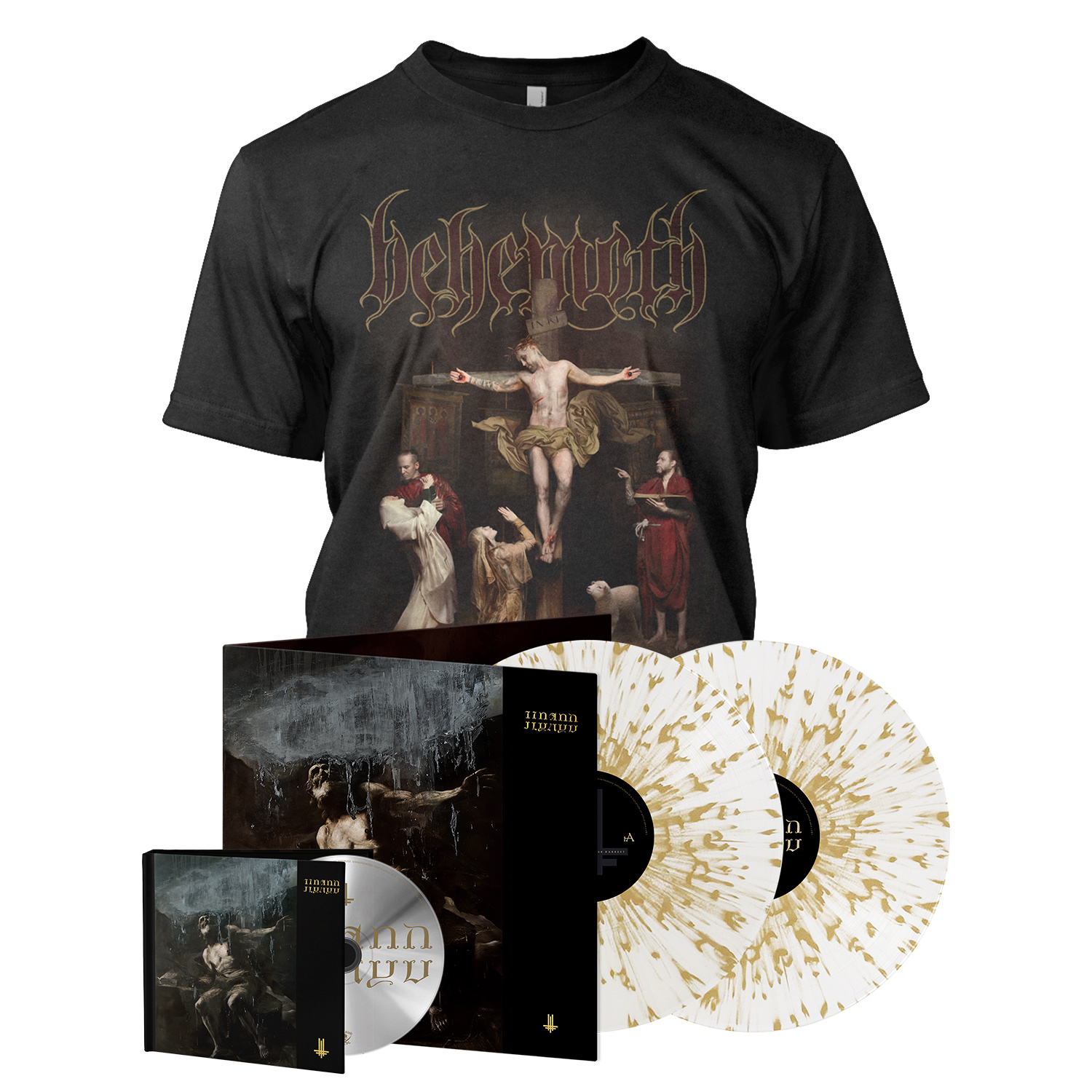 I Loved You at Your Darkest - Deluxe Digibook Bundle - Splatter