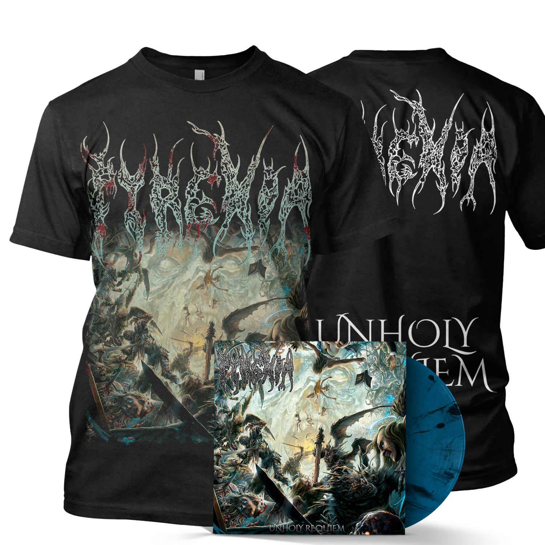 Unholy Requiem LP + Tee Bundle