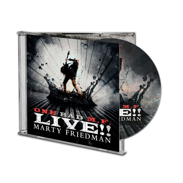 One Bad M.F. Live!! CD Bundle
