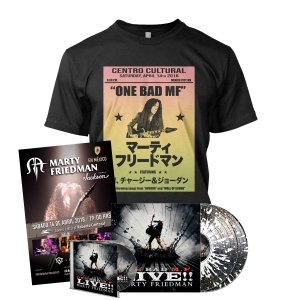 One Bad M.F. Live!! CD + 2xLP Bundle