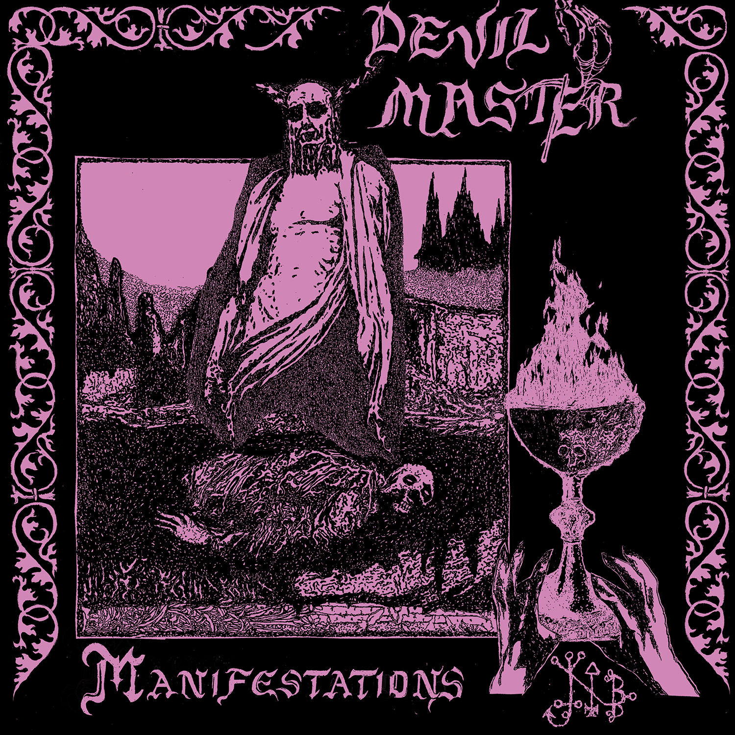 Manifestations T Shirt + LP Bundle