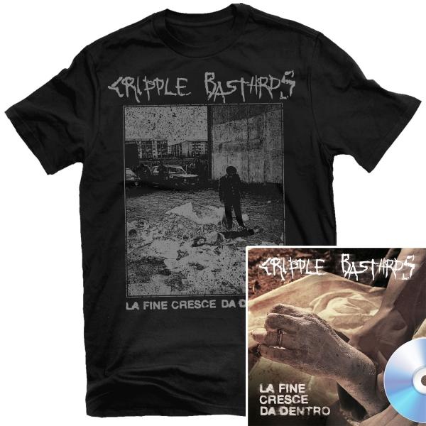 La Fine Cresce Da Dentro T Shirt + CD Bundle