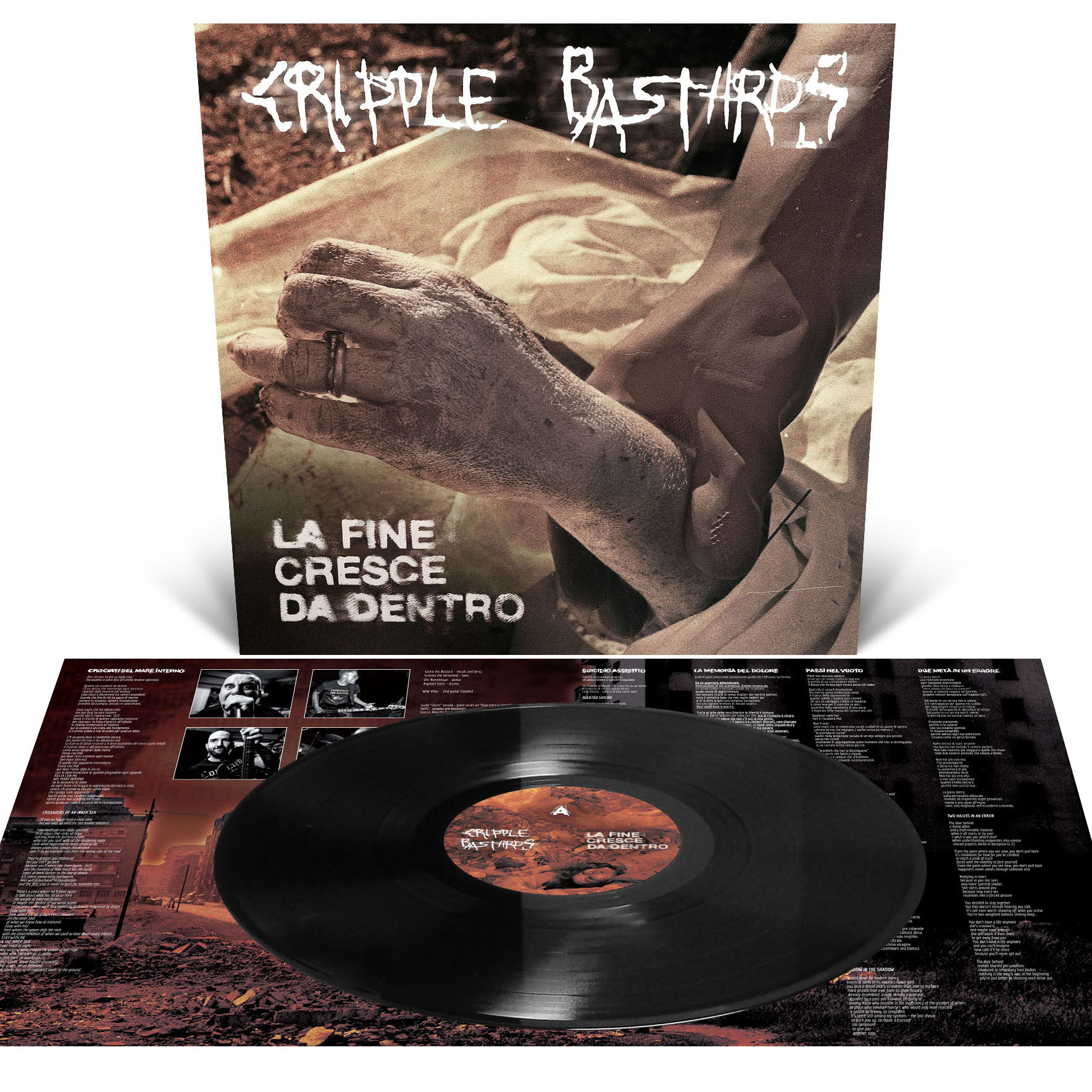 La Fine Cresce Da Dentro T Shirt + LP Bundle