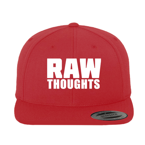Raw Thoughts Snapback Cap