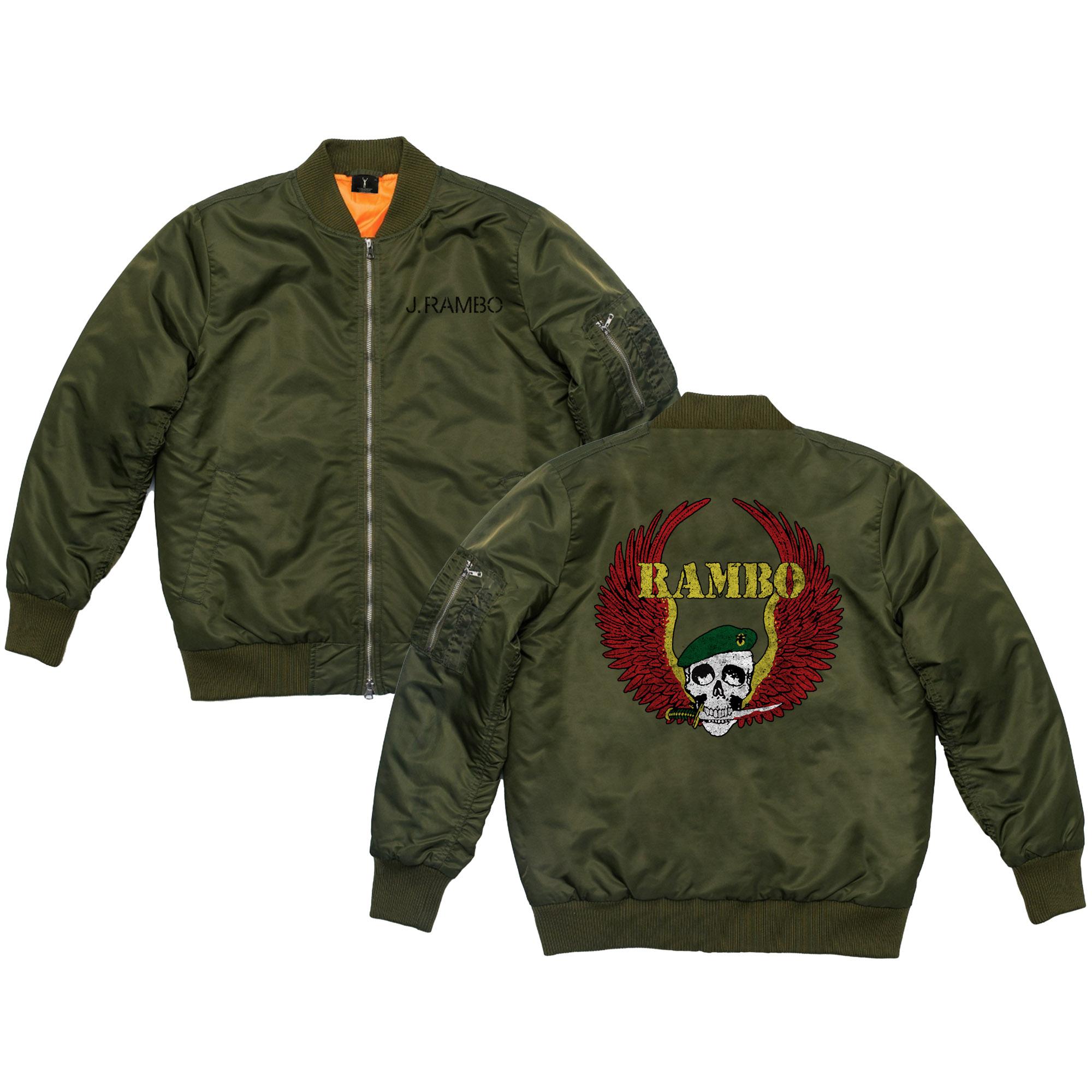 RAMBO Cast & Crew Bomber Jacket