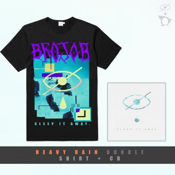 Sleep It Away CD + Sleep It Away T-Shirt Bundle