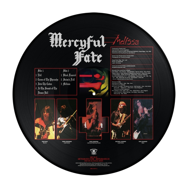 Melissa (Picture Disc)