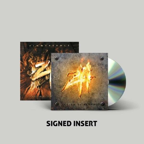 Legion Of Flames Digipak + SIGNED Insert