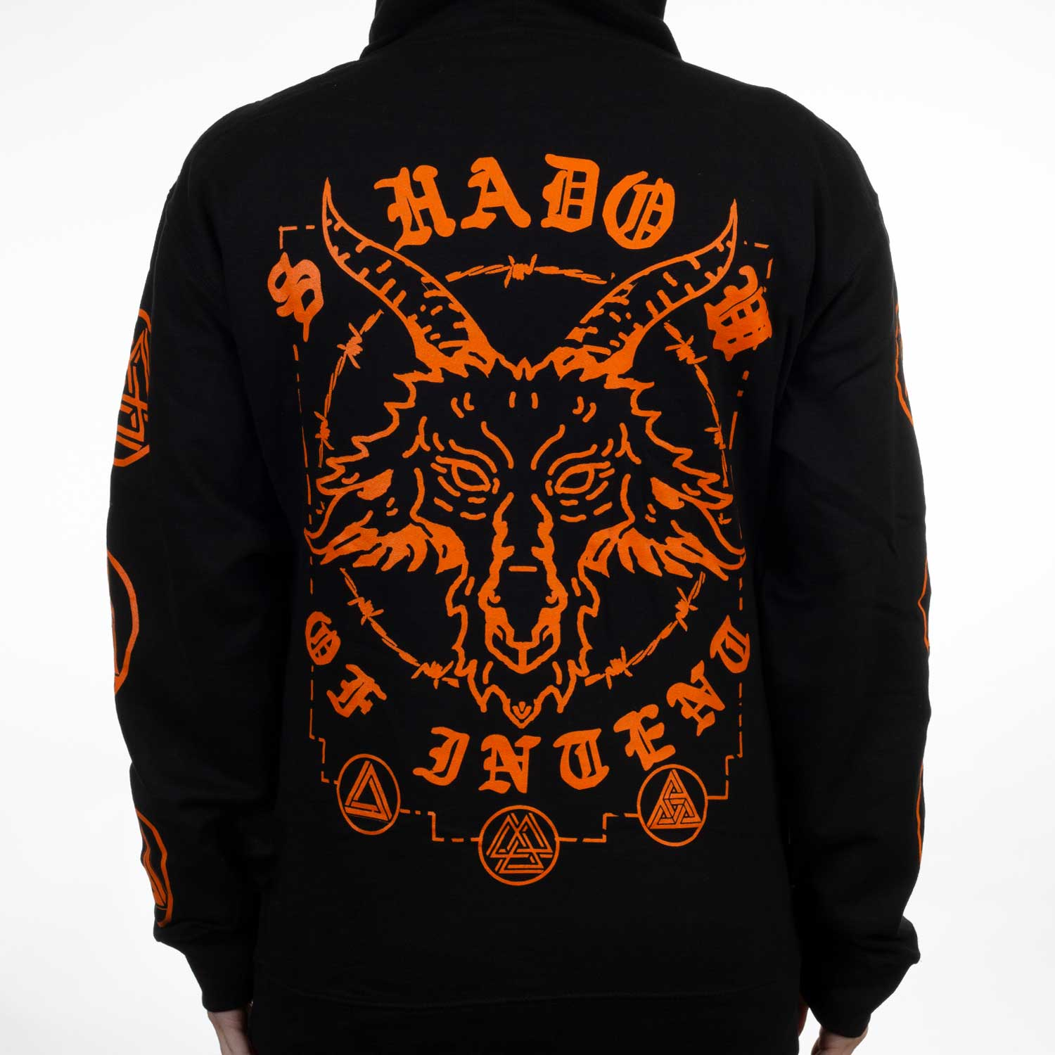 Shadow Of Intent Quot Goat Symbols Quot Pullover Hoodie