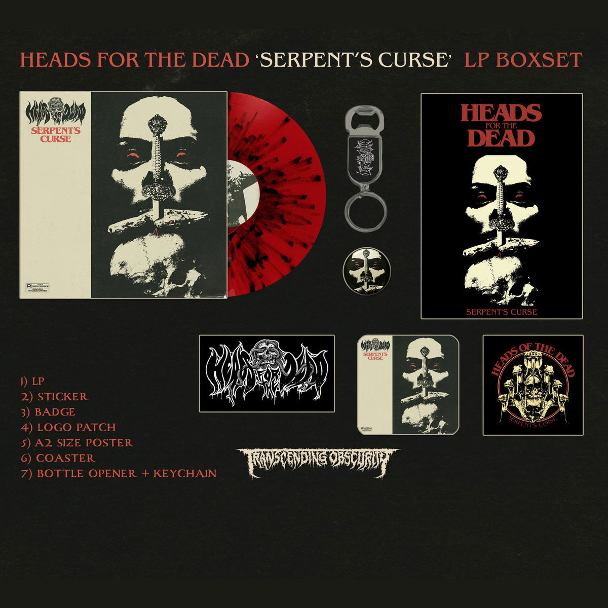 Serpent's Curse LP Box Set